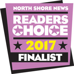 North Shore News Readers Choice Finalist