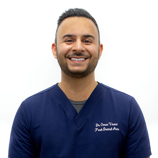 Dr. Omar Virani | Esthetics | Full Mouth Rehabilitation | Implant Surgery and Restoration | Peak Dental Arts - North Vancouver
